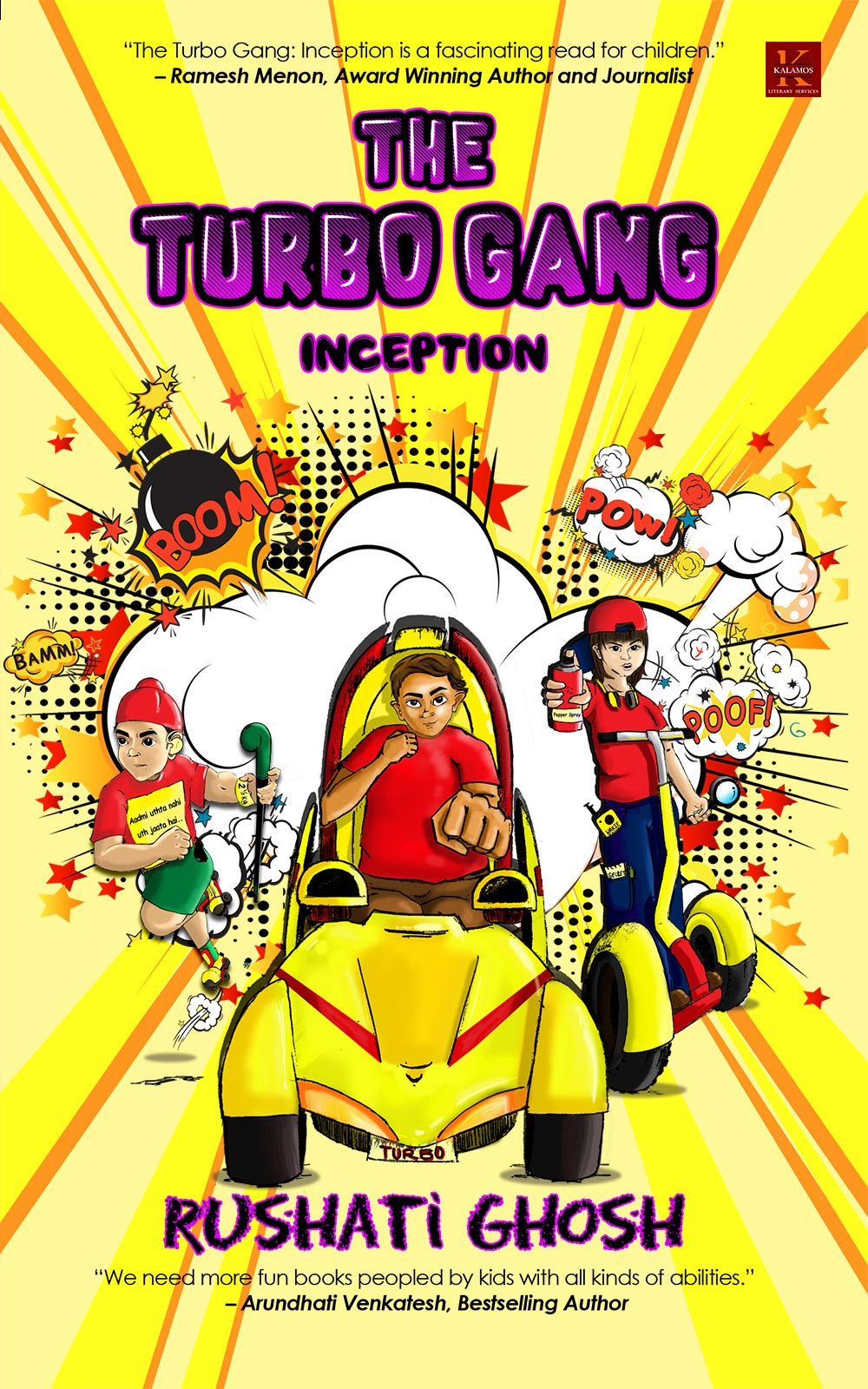 The Turbo Gang: Inception By Rushati Ghosh