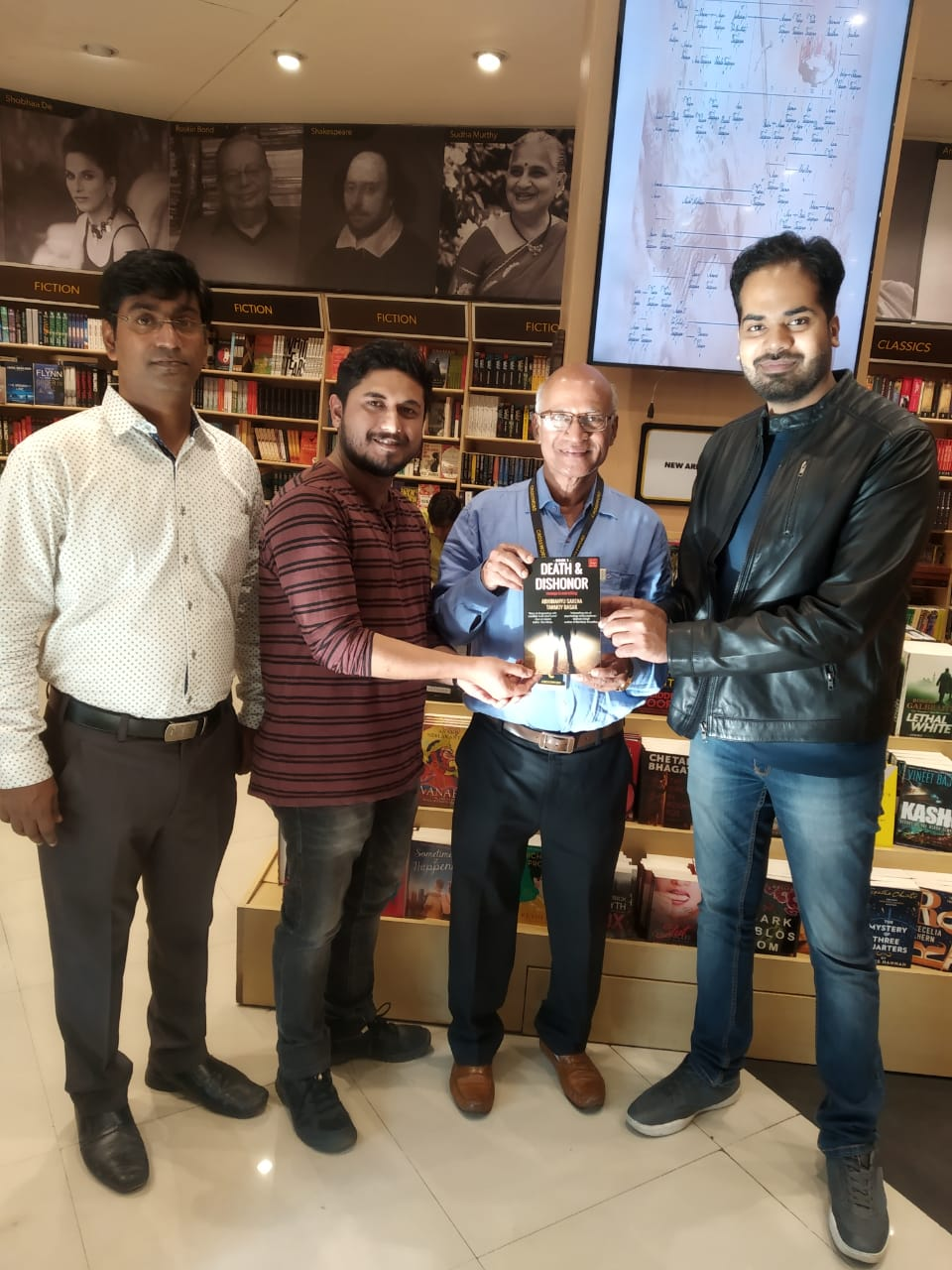 Death & Dishonor Mumbai Visit